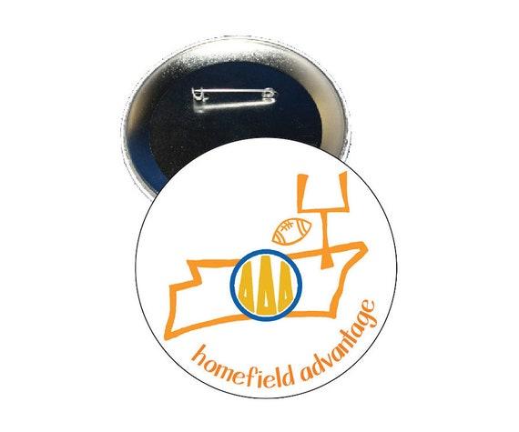 Orange Delta Zeta Tennessee Homefield Advantage Gameday Button