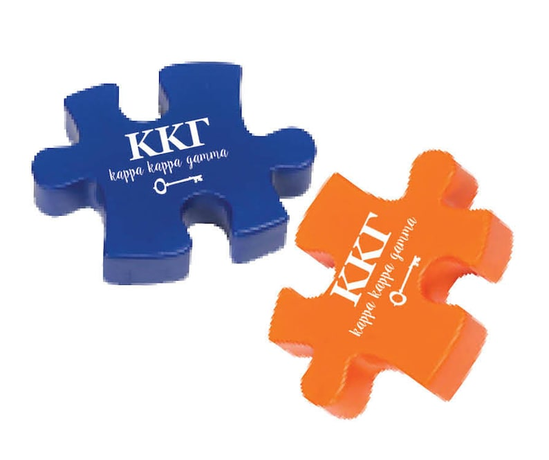 Kappa Kappa Gamma Stress Reliever Puzzle   Etsy