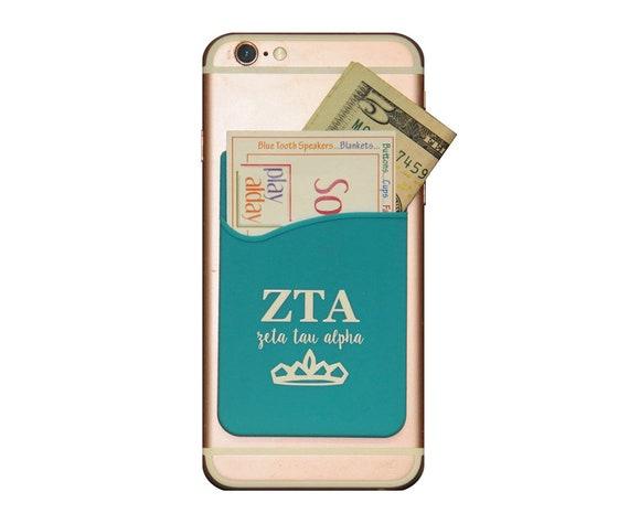 Zeta Tau Alpha ZTA Custom Game Day Tote Black