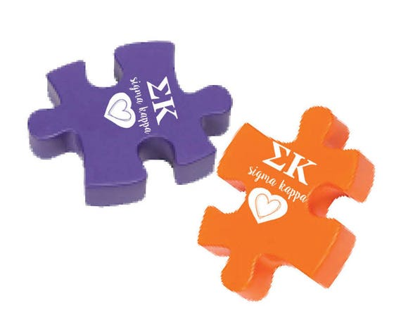 Sigma Kappa Stress Reliever Puzzle Etsy