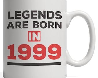 Legends Are Born In 1999 Mug