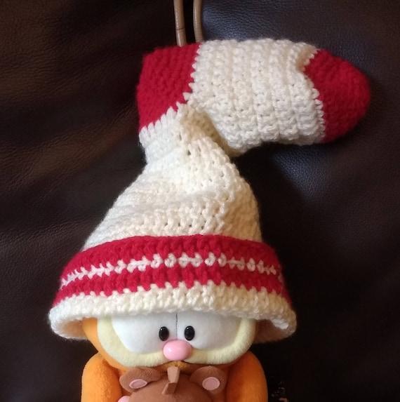 Fantastische Mr Fox Bandit häkeln Hut weiße Socke wie Hut | Etsy