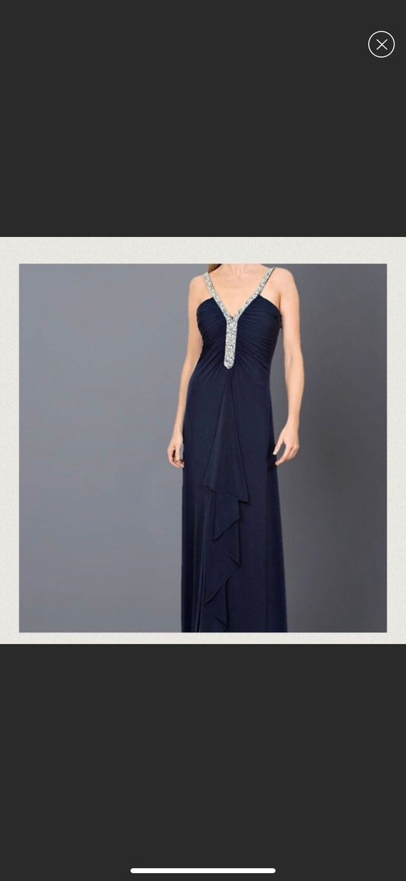 Boutique evening dress
