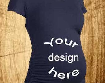 5fe4f15baa A Custom Maternity Shirt (short sleeve)