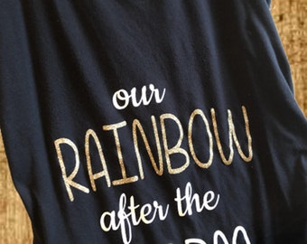 Rainbow after the Storm Maternity Shirt