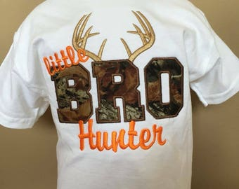 Personalized Buck Hunter Brother Shirt