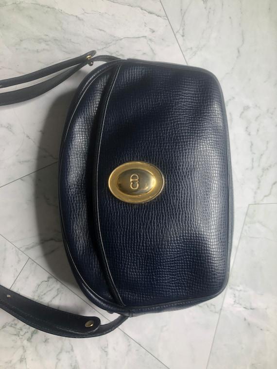 Rare Authentic Christian Dior 90s Shoulder Bag Sad