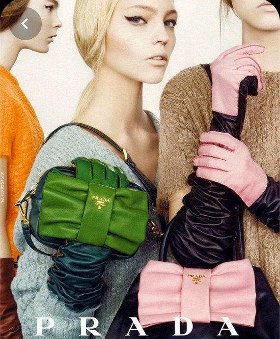 Authentic PRADA Nylon Bag 90s Shoulder Bag Mini Po