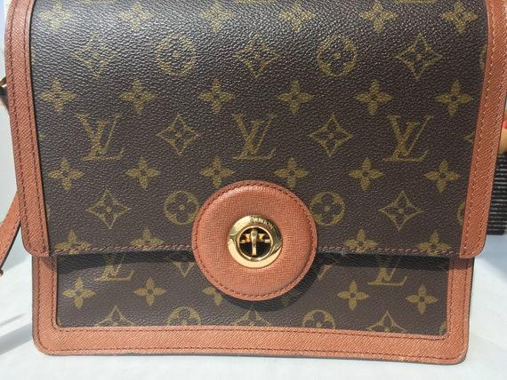 Authentic Vintage Louis Vuitton Bag Crossbody Shoulder   Etsy 5cf0e4bcf9