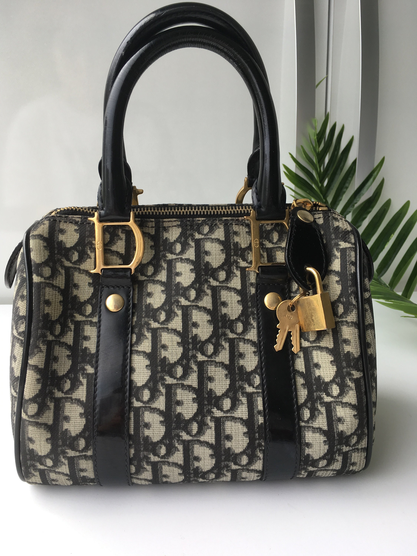Authentic Christian Dior Bag Monogram Trotter Mini Diorissimo  278a411bddbda