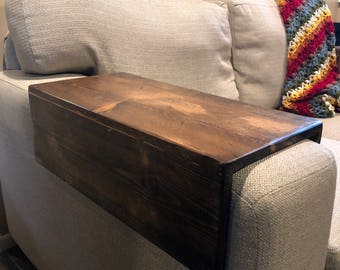 Sofa Arm Table Etsy