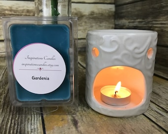 Gardenia Wax Melts / Scented Wax Melts / Candle Melts / Scented Candle Melts / Wax Tarts / Wax Melts / Wax Cubes / Best Wax Cubes
