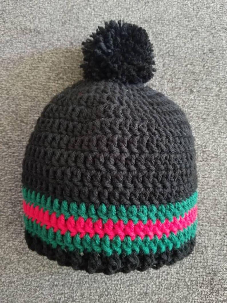 3cbfdc48081 Gucci Inspired Crochet Adult Hat