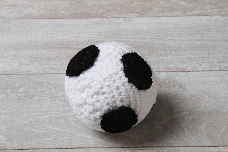 Crochet soccer ball. Newborn crochet soccer ball. | Etsy