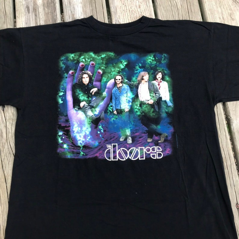 Vintage The Doors T-shirt XL 1999 psychedelic