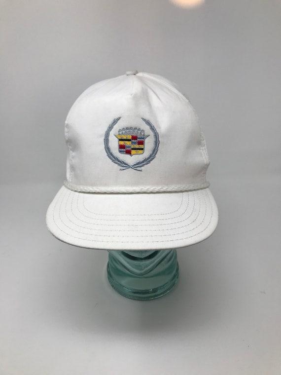 Vintage cadillac snapback hat emblem  6cb9eff5c34b