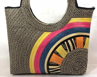 Cane of Arrow Shoulder Bag, Unique Bag, Multi color bag