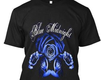 Blue Midnight Men's Rose Tshirt