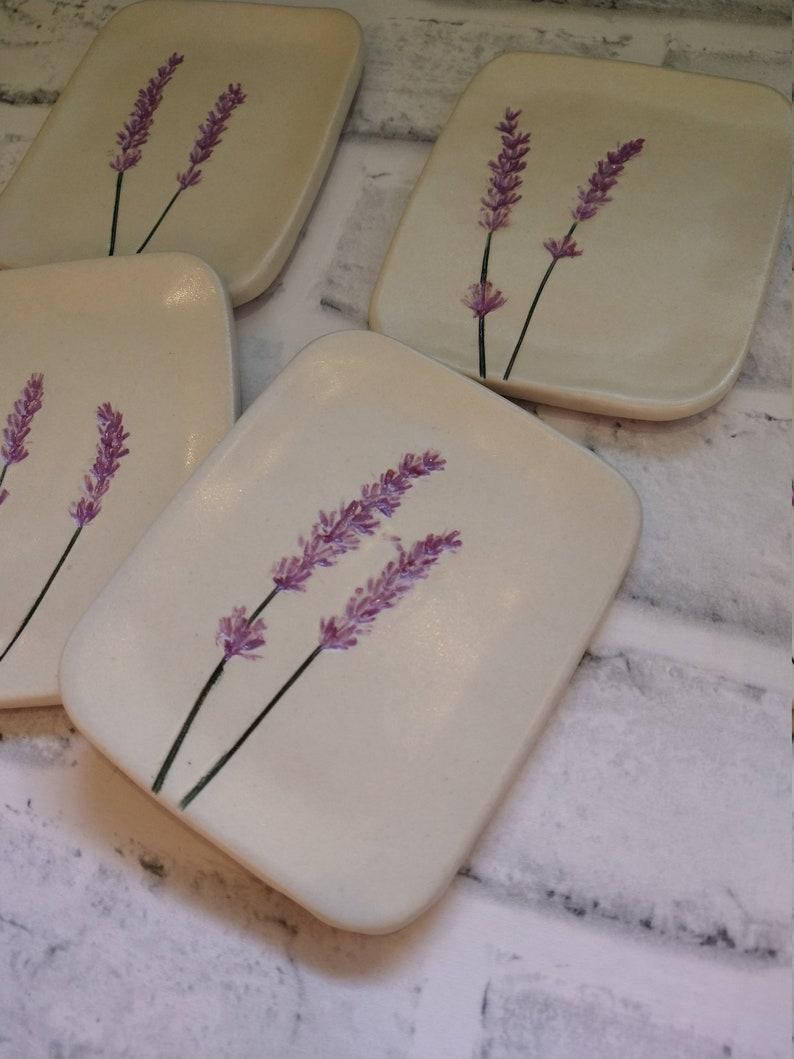 Lavender Jewelry Dish Lavender Dish Soap Dish Jewelry Dish