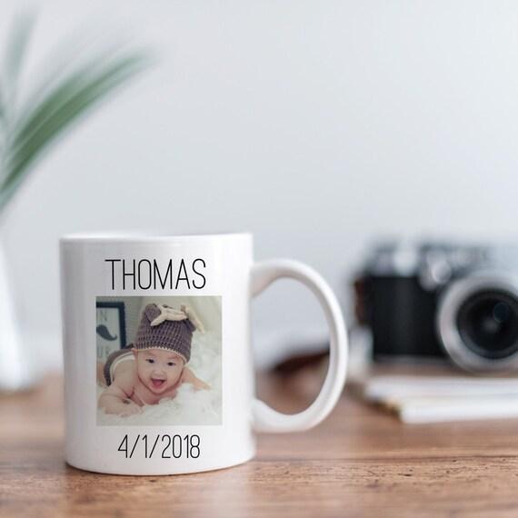 Newborn Photo Gift Mugs |...