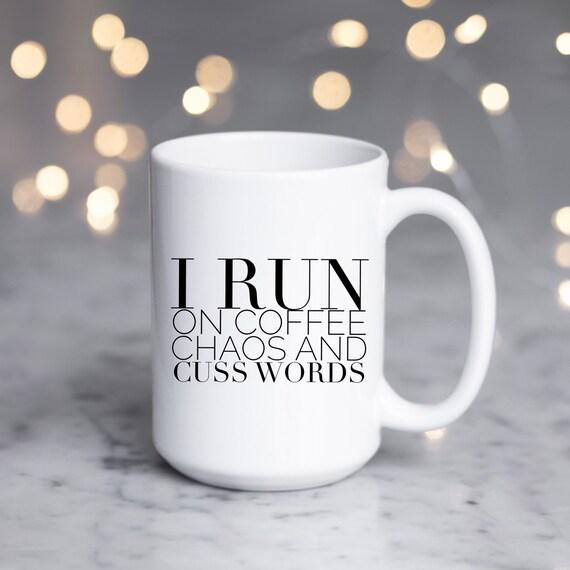 Coffee Chaos Cuss Words |...
