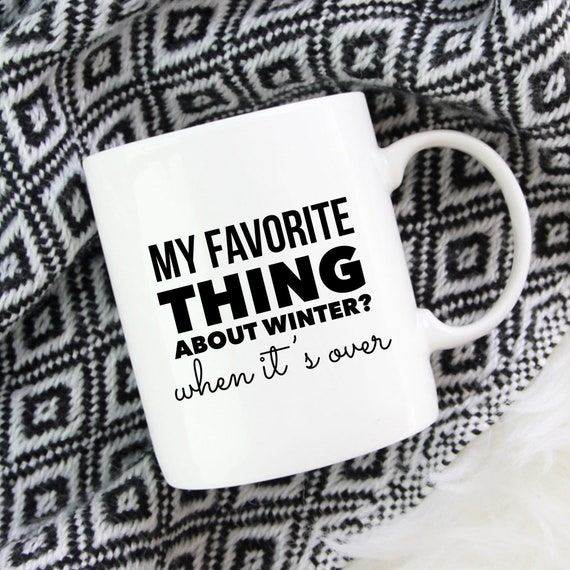 Funny Cold Mug | Baby Its...