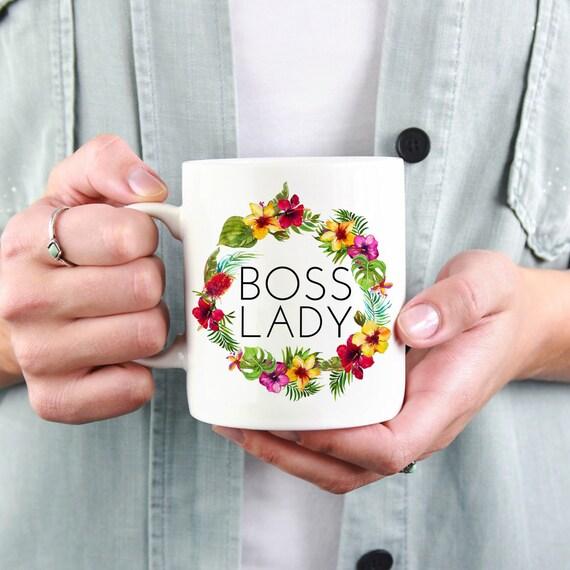 Boss Gift: Boss Lady Mug...