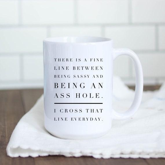 Asshole Coffee Mug | Funn...