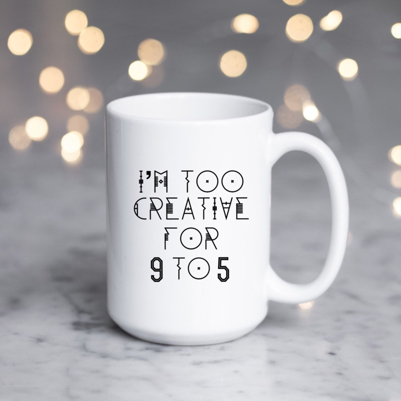 Creative Birthday Gift Mug Female Entrepreneur Coffee
