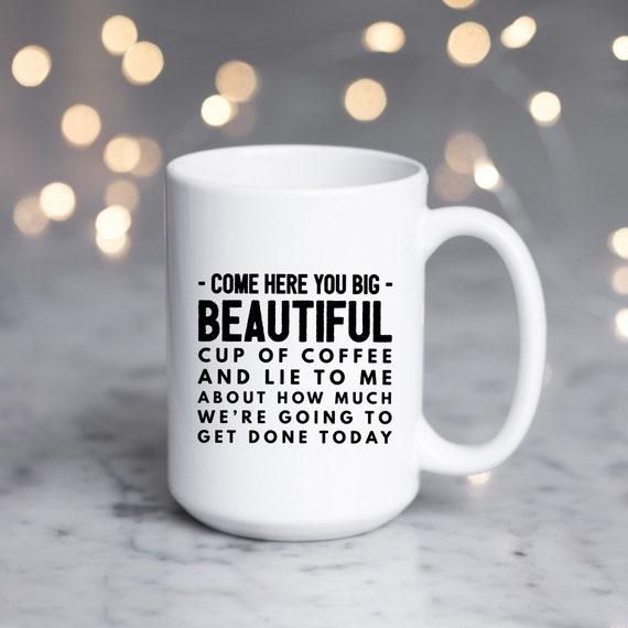 Cool Coffee Mug | Large L...