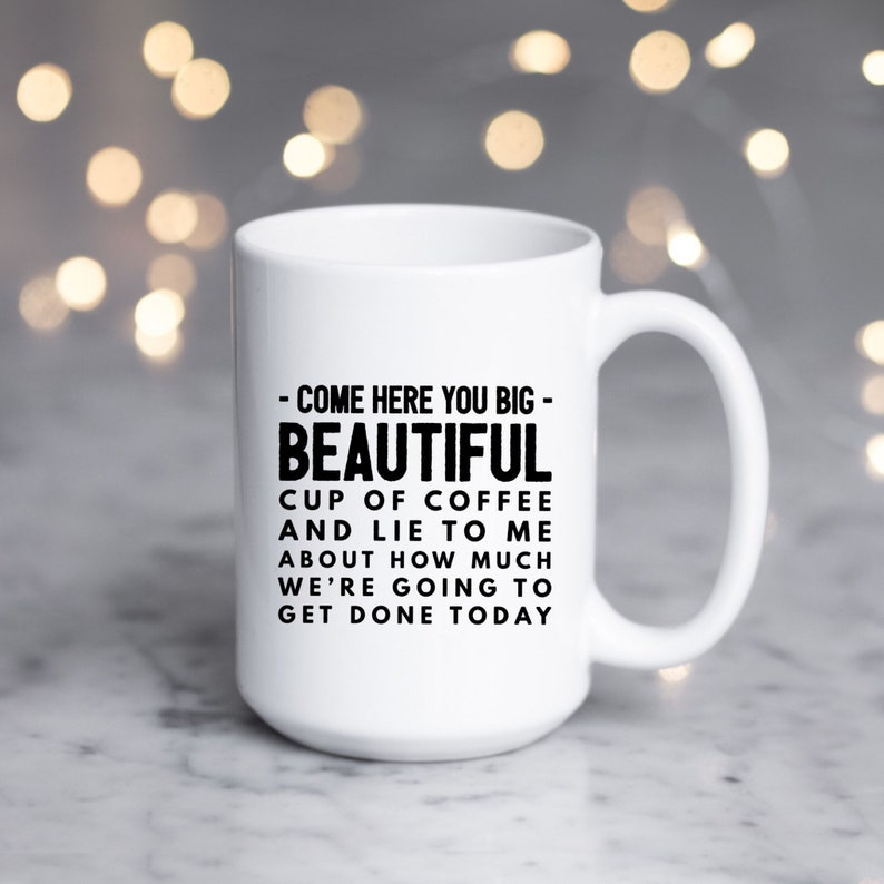 95dabe02c7b Cool Coffee Mug | Large Lazy Quote | Gift for Bestfriend | Gift-for-Her |  Funny Mugs for Women | Mugs with Sayings | Message Sassy Mug Gift