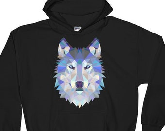 Wolf Nature Sweatshirt Photo Mountain Hills Animal Winter Forest Hipster Sweat