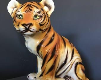 Porcelain Tiger Cub