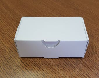 100 count white business card boxes quantity 500 - Business Card Box