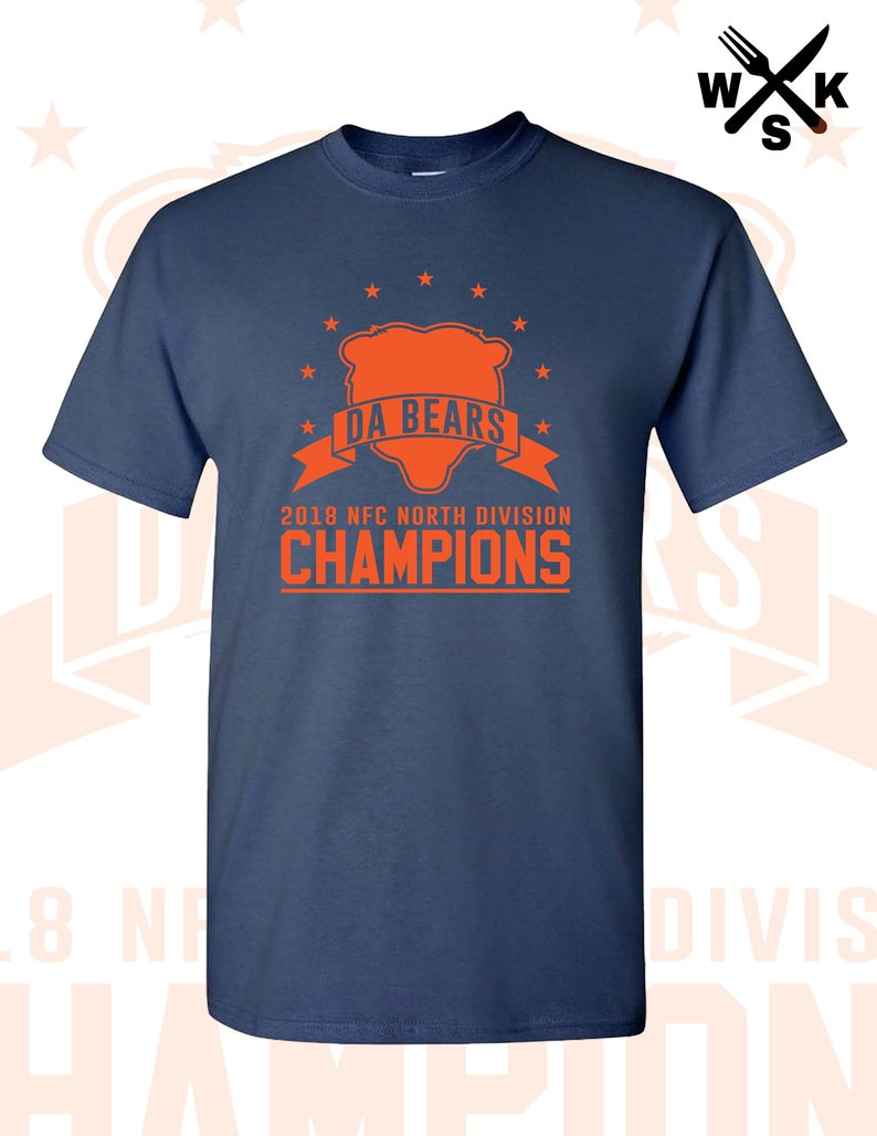 new style 499f0 d591a Da Mack Attack Khalil Mack Chicago Bears Down Blue and Orange Soldier Field  Walter Payton Mosnters Of The Midway Division Champions champs