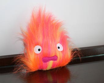 small calcifer plushie - howls moving castle