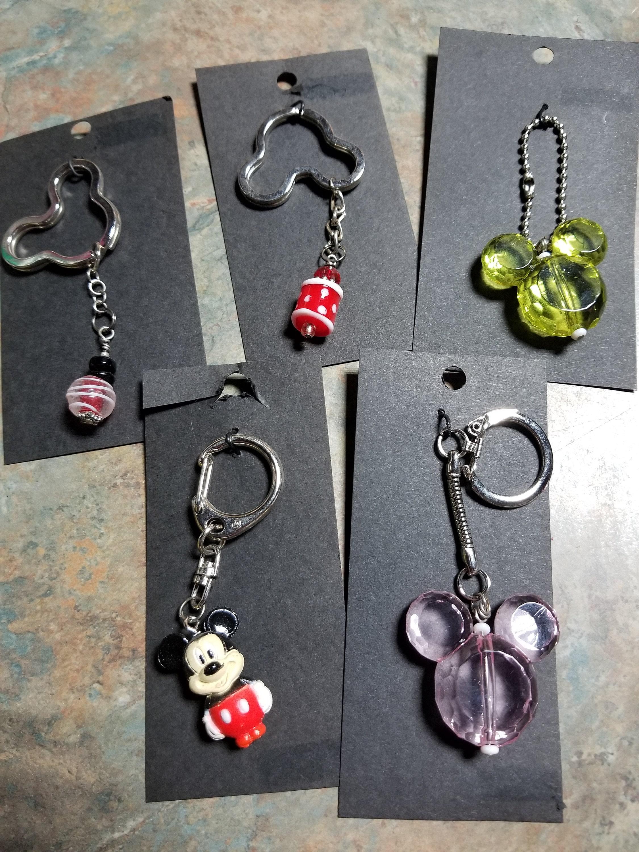 Mickey 3 Minnie Elastic Bracelet Key Chains by Marie Mae