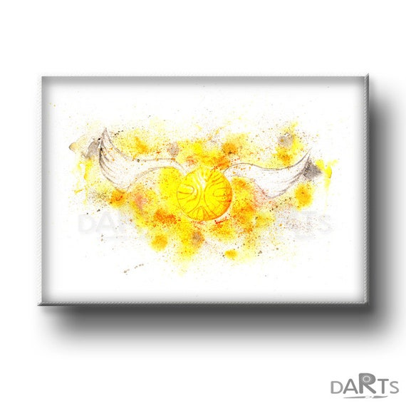 photo regarding Golden Snitch Printable referred to as Golden Snitch Printable Wall Artwork Harry Potter Print Harry Potter Decor Prompt Obtain Harry Potter Reward Watercolor Print Electronic Down load