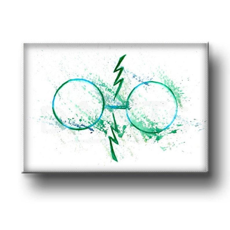 graphic about Harry Potter Glasses Printable referred to as Harry Potter Gles Printable Wall Artwork Prompt Obtain Nursery Decor Harry Potter Print Harry Potter Present Harry Potter Artwork Watercolor