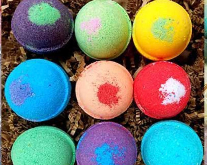"""Gilded Goat - Luxury Fizzy Fizzy Goat Bath Bomb Collection - 2.1"""""""