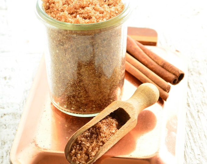 Gilded Goat Bath Luxuries - Handcrafted Coconut Oil Sugar Scrubs - Made To Order