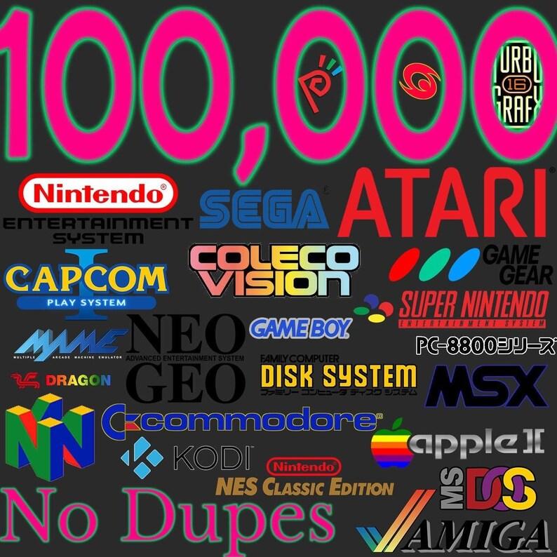 Retropie 100,000 Pi3 & B+ Works 61 Systems On 64gb Sd Card No Duplicates