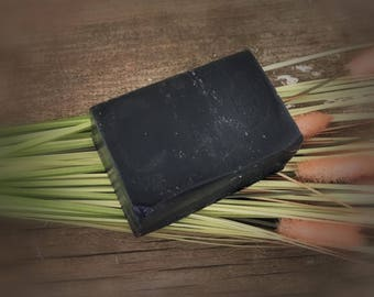 SALE: Handmade Activated Charcoal and Tea Tree Facial Bar