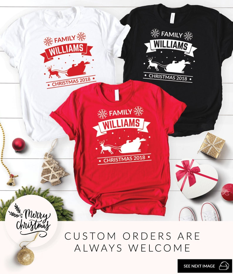 Matching Christmas Shirts For Family.Matching Family Christmas Shirts Personalized Christmas Shirts Family Matching Shirts Family Shirts Funny Christmas Matching Christmas