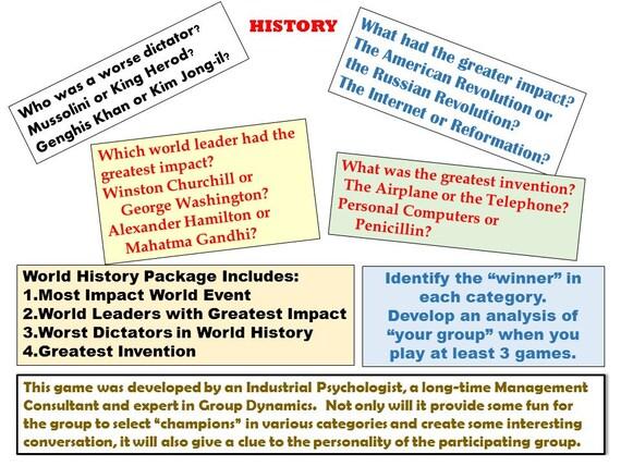 Tournoi jeu à boire: Impact événement mondial, Leader mondial d'Impact, dictateur pire, plus grande Invention