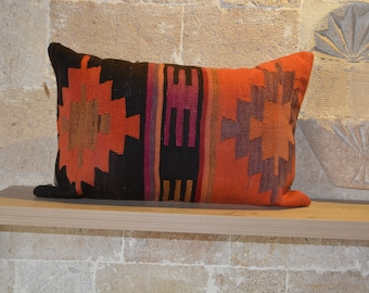 Excellent Kilim Chair Pad Etsy Download Free Architecture Designs Rallybritishbridgeorg