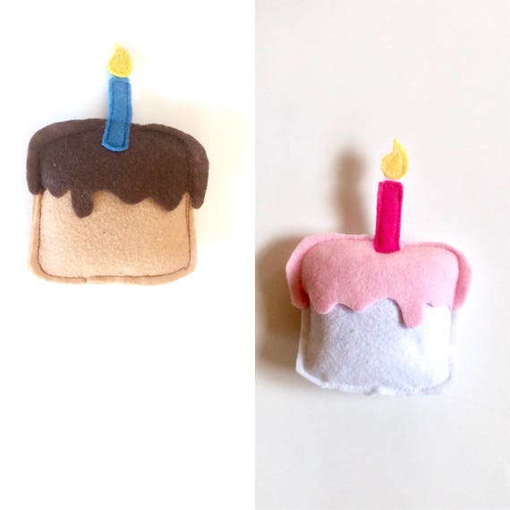 Cat Birthday Cake Catnip Toy Vegan Toys