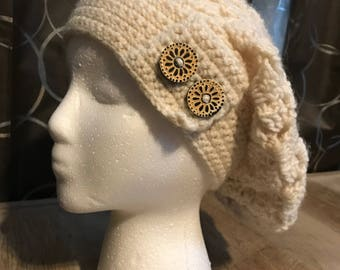 Button Slouch Hat