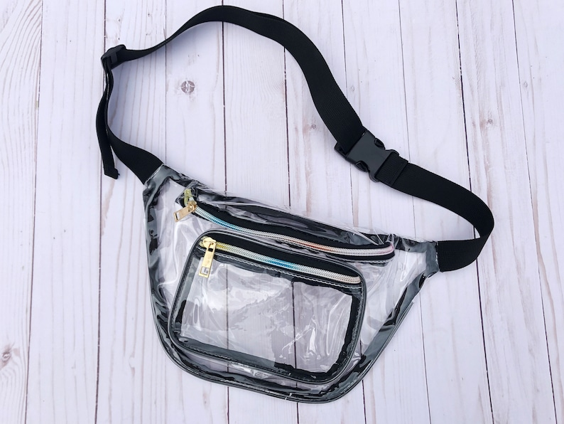 1b130a2f75b8 Clear Fanny Pack // Clear Belt Bag Stadium Approved Concert Bag Clear Waist  Bag Clear Event Bag for Music Festivals, Ariana Grande Tour