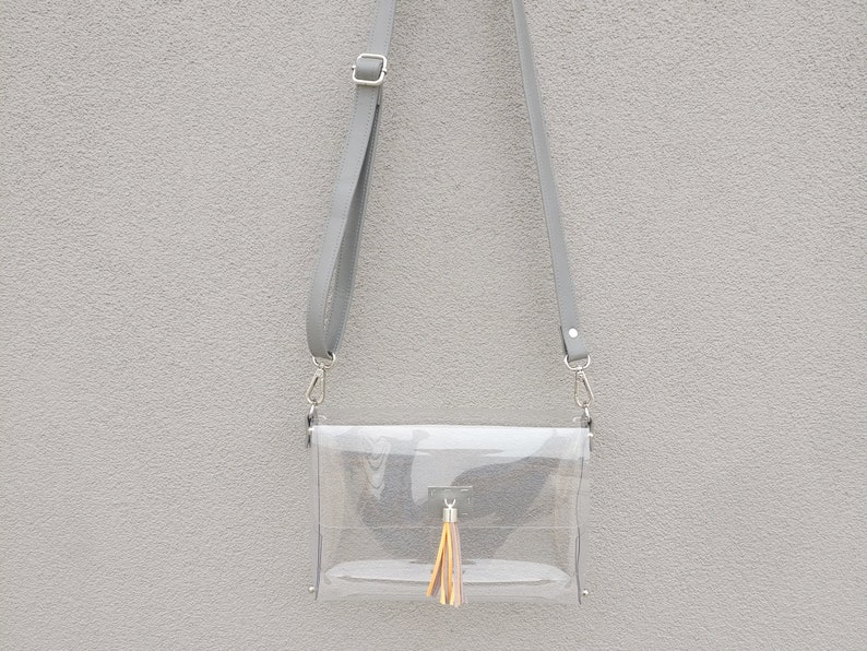 b2ad7e2ccefe Clearlee Tennessee    Clear Bag Purse Crossbody Bag Clear